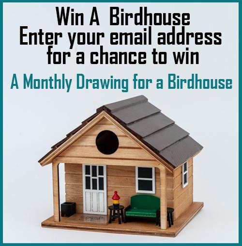 Win A Birdhouse